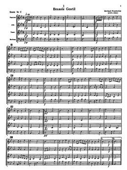 Saxophone Quartets Vol.1 Score And Parts P. Harvey