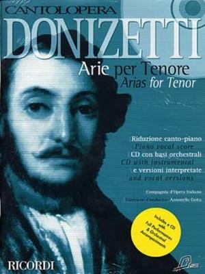 Donizetti Gaetano : CANTOLOPERA: ARIE PER TENORE + CD