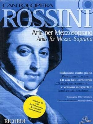Rossini Gioacchino : CANTOLOPERA: ARIE PER MEZZOSOPRANO + CD