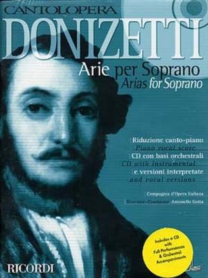 Donizetti Gaetano : CANTOLOPERA: ARIE PER SOPRANO + CD