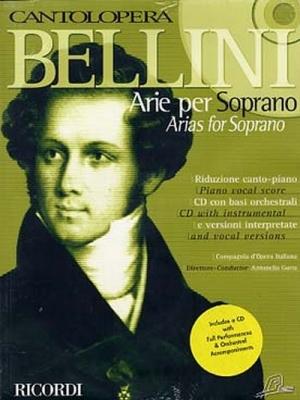 Bellini Vincenzo : CANTOLOPERA: ARIE PER SOPRANO + CD