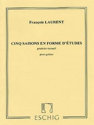 5 Saisons..V1 Guitare (En Forme D'Etudes
