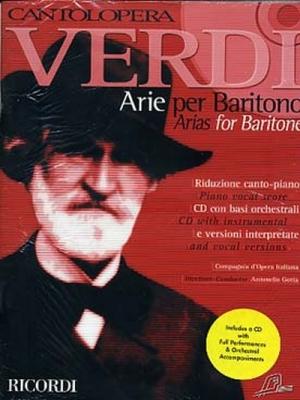 Verdi Giuseppe : CANTOLOPERA: ARIE PER BARITONO + CD