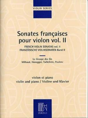 Sonates Francaises Pour Violon Et Piano