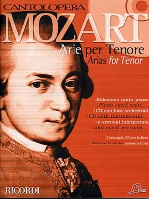 Mozart Wolfgang Amadeus : CANTOLOPERA: ARIE PER TENORE + CD