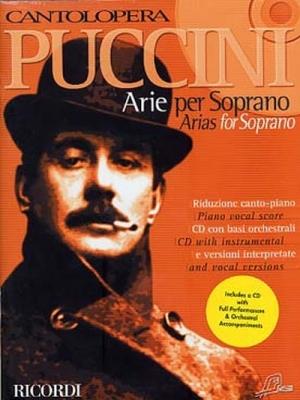 Puccini Giacomo : CANTOLOPERA: ARIE PER SOPRANO + CD VOLUME 1