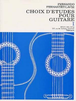 Choix D'Etudes No1 Guitare
