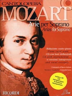 Mozart Wolfgang Amadeus : CANTOLOPERA: ARIE PER SOPRANO + CD