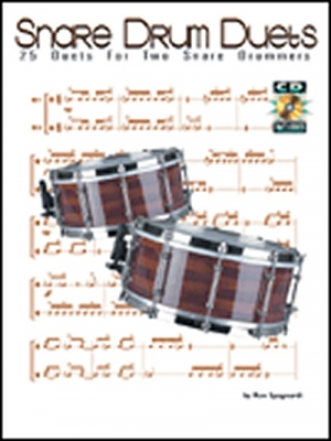 Snare Drum Duets Drums By Ron Spagnardi