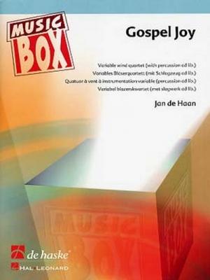 Gospel Joy / Jan De Haan - Instrumentation Variable (4 Voix)