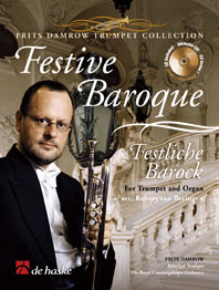 Festive Baroque / Frits Damrow - Trompette