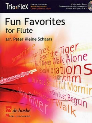 Fun Favorites For Flûte / Arr. Peter K. Schaars - Trio De Flûtes Traversières