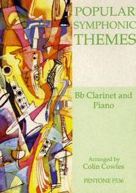 POPULAR SYMPHONIE THEMES / Cowles Ed - Clarinette et piano