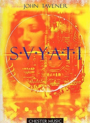 Tavener Svyati Satb/Solo Cello