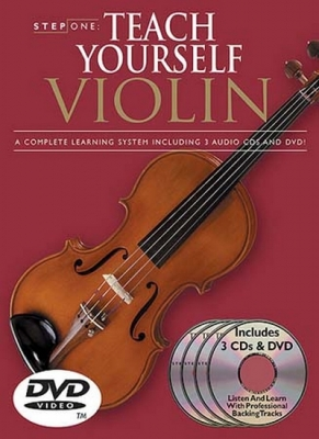 Teach Yourself Violin 3 Cds and Dvd