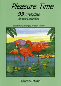 Pleasure Time 99 Melodies / Arr. Cowles - Saxophone Solo