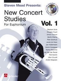 New Concert Studies Vol.1 / Baryton - Euphonium Clé De Fa