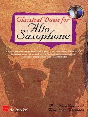 CLASSICAL DUETS FOR SAXOPHONE / N. Dezaire - R. Van Beringen - Saxophone