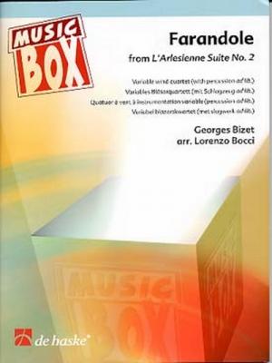 FARANDOLE / Georges Bizet, arr. L. Bocci - Quatuor à instrumentation variable