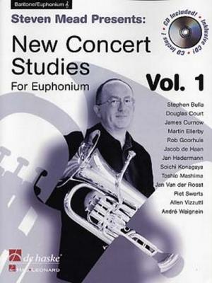 New Concert Studies Vol.1 / Baryton - Euphonium Clé De Sol