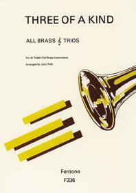 3 Of A Kind / Arr. Frith - Trios De Cuivres En Clé De Sol