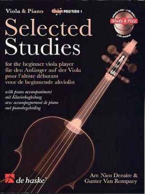 SELECTED STUDIES / Alto & et Piano volume 1