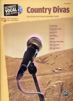 Ultimate Vocal Vol.3 Country Divas 8 Tracks Female