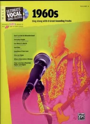 Ultimate Vocal Vol.6 1960S 8 Tracks Male Cd
