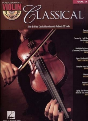 Violin Play Along Vol.3 Classical Cd