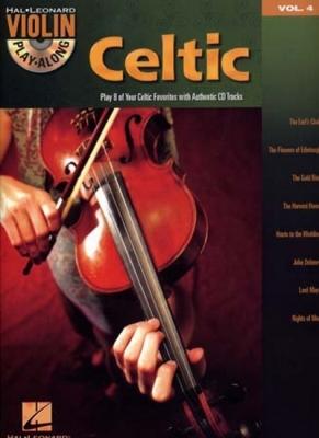 Violin Play Along Vol.4 Celtic Cd