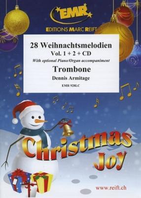 28 Weihnachtsmelodien Vol.1+2 + Cd