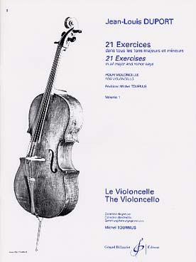 21 Exercices Dans Tous Les Tons Majeurs Et Mineurs Vol.1