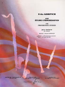 416 Etudes Progressives Vol.1