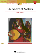 14 Sacred Solos Low Voice 2 Cd