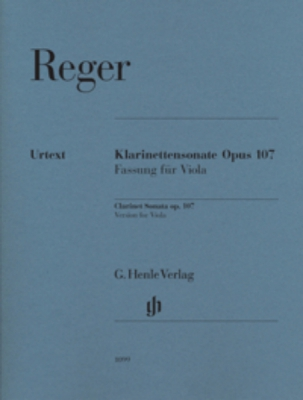 Sonate Pour Clarinette Op. 107