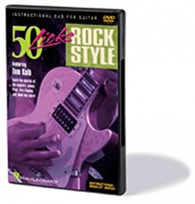 Dvd 50 Licks Rock Style