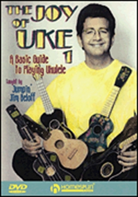 Dvd Joy Of Uke 1 Basic Guide Ukulele