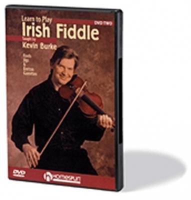 Burke Kevin : Dvd Irish Fiddle Vol.2 Kevin Burke