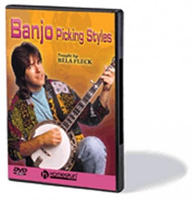 Dvd Fleck Bela Banjo Picking Styles