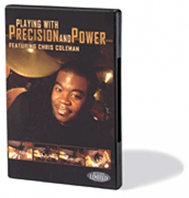 Dvd Playing With Precision And Power Drums Chris Coleman