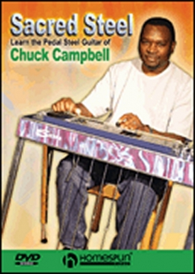 Dvd Learn The Pedal Steel Guitar Of Chuck Campbell