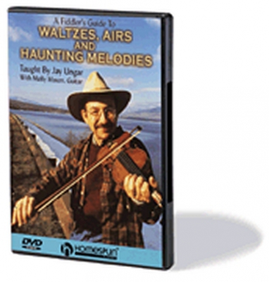 Dvd Waltzes Airs and Haunting Melodies For Fiddle