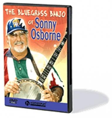 Dvd Bluegrass Banjo Of Sonny Osborne