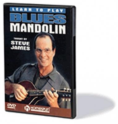 Dvd Blues Mandolin Steve James