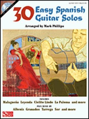 30 Easy Spanish Guitar Solos Cd