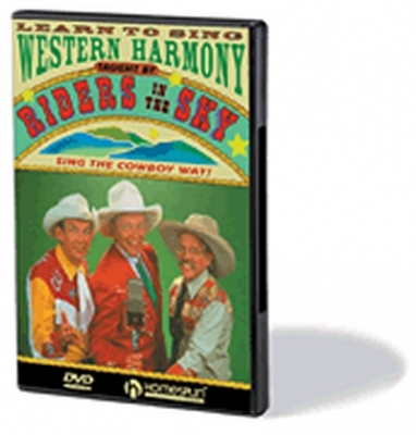 Dvd Learn To Sing Western Harmony