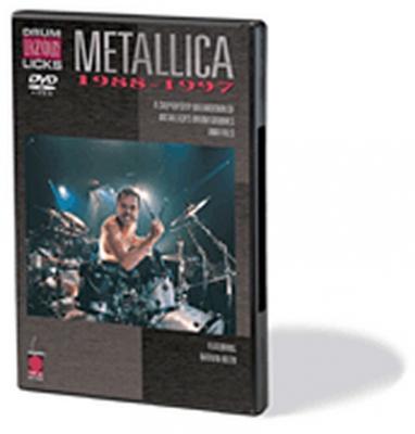 Dvd Metallica Drum Legendary Licks 88-97