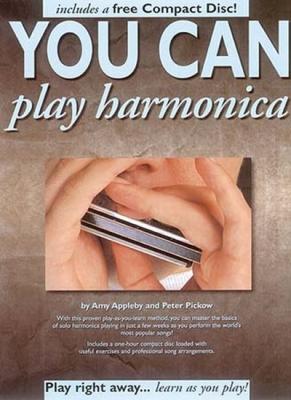 You Can Play Harmonica Cd