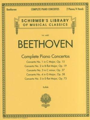 Beethoven Ludwig Van : Beethoven - Complete Piano Concertos