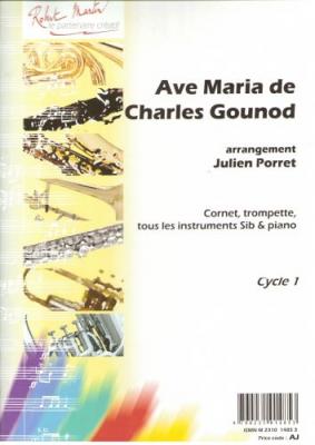 Gounod Charles : Ave Maria, sib